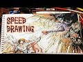 Download Death Note Speed Drawing Riuk y Light Yagami in Mp3, Mp4 and 3GP