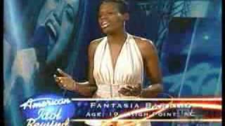 Fantasia Barrino Audition