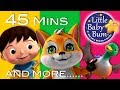 The Fox Plus Lots More Nursery Rhymes 45 Minutes Compilation From LittleBabyBum mp3