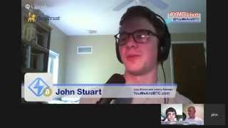 Cryptotheft at Gunpoint, Price Stability, & More Bitcoin Headlines - #YMBLive 6-10-15