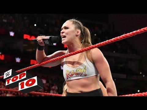 Top 10 Raw moments: WWE Top 10, August 6, 2018 thumbnail