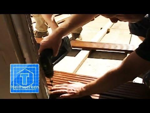 Bauanleitung, Terrasse Bauen, Ausführliche Bauanleitung Zur Holzterrasse