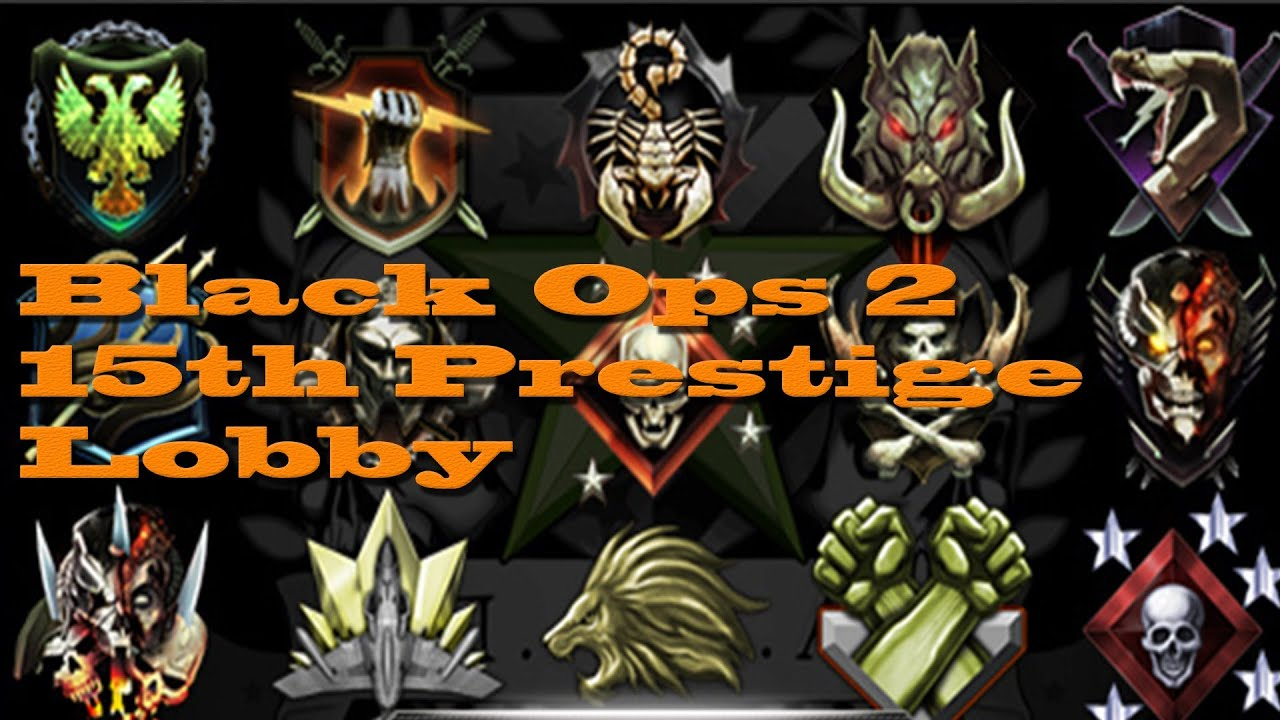 Prestige Emblems Black Ops 2 Black Ops 2 15th Prestige