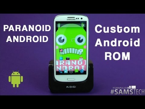 Galaxy S3 Jelly Bean ROM PARANOID ANDROID (CM10)