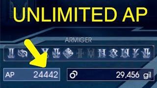 Final Fantasy XV: Unlimited AP Trick (Magitek Generator)