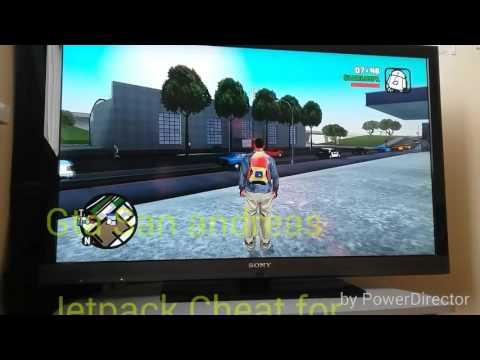 Gta San Andreas: Jetpack cheat (Xbox360/PS3)