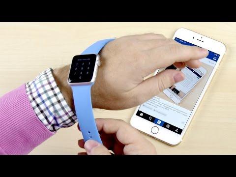 Apple Watch - настройка и первое впечатление