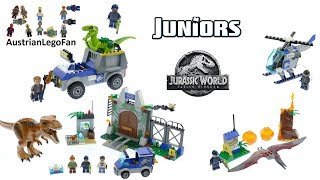 All Lego Jurassic World Fallen : Kingdom Juniors Sets 2018 - Lego Speed Build Review