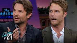 Bradley Cooper & Jake McDorman Talk Limitless