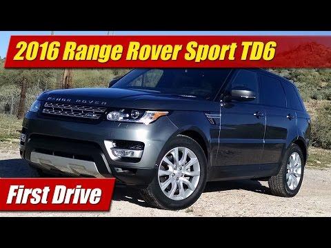 2016 Range Rover Sport TD6: First Drive