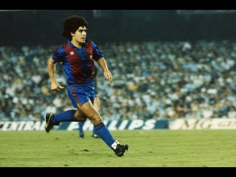 FC Barcelona 30 años de esta genialidad de Maradona en el Bernabéu