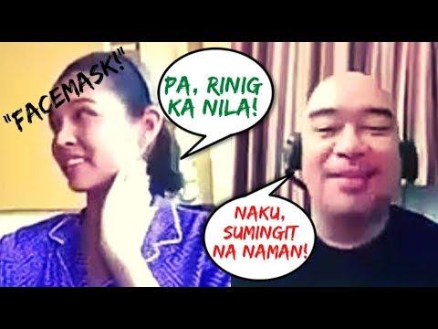 """Alden Richards - Dinig Na Dinig Ang Pagbulong Ng """"face Mask"""" Kay Maine Mendoza Sa Fb Live Kanina"""