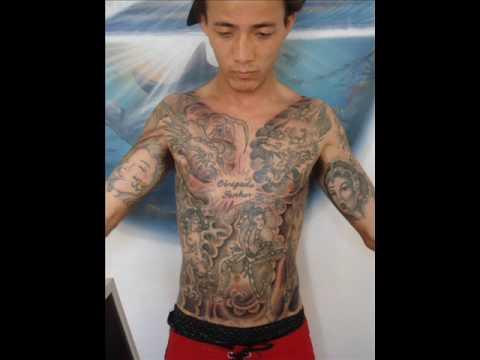 Boni Tattoo-preto Sombreado
