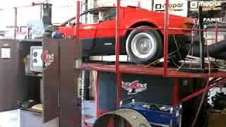 Ferrari 365 GT/4 Berlinetta Boxer on Dyno