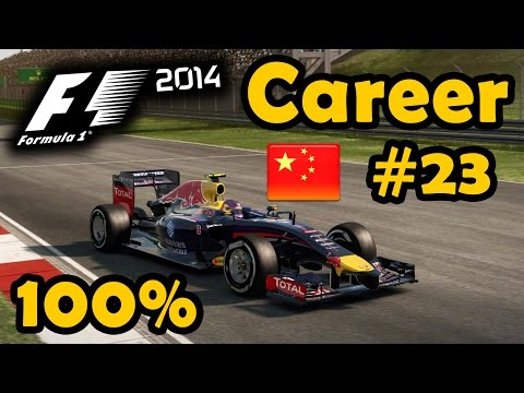 F1 2014 100% Race Ultra Mod Career Part 23 - Chinese Grand Prix