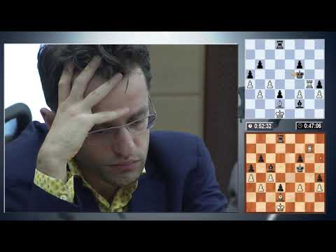 Candidates Tournament 2014. Round 10 (English audio)
