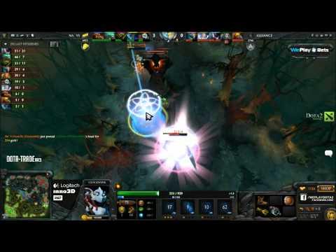 Weplay D2L grand final: NaVI vs Alliance game 2