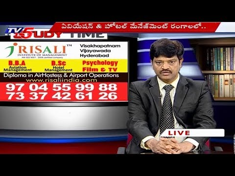 Risali Institute of Management | BBA, Hotel Management & Pyschology | Study Time | TV5 News