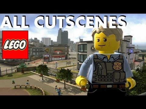 Lego City Undercover - Cutscenes Movie (Best Version)