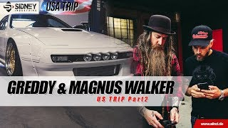 RX7 FC Rocketbunny [Wankelpower] & Urban Outlaw - Magnus Walker | US Trip Part 3 | Sidney Industries