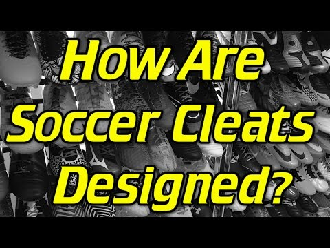 How Are Soccer Cleats/Football Boots Designed?