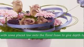 OASIS® Floral Products ~ How To ~ On The Wings Of Love