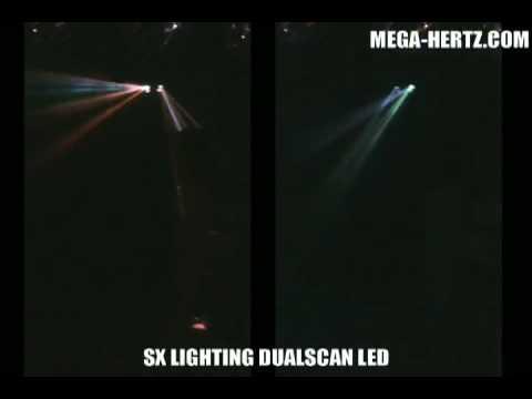 Double Scan à LED SX Lighting MEGA-HERTZ