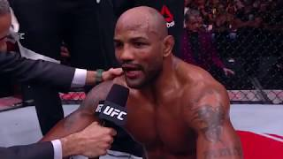UFC 221: Yoel Romero Octagon Interview