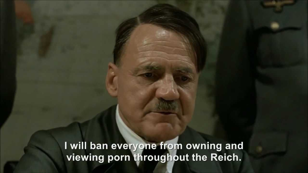 Hitler plans to ban porn