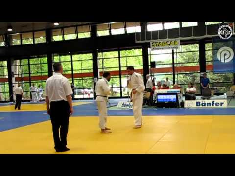 DHM 2012 Judo, Newcomer Mnner2 -42- Magdeburg vs. Aachen 1 -73kg