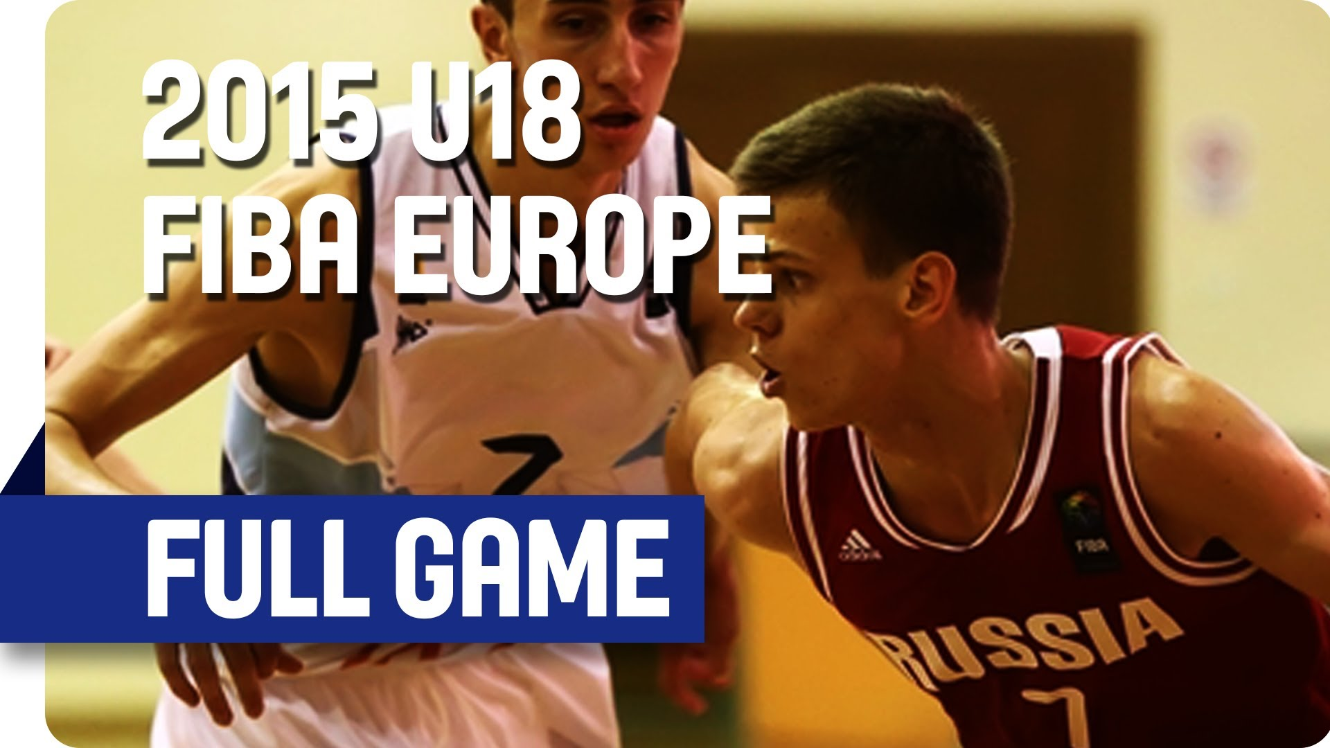 Latvia v Russia - Game for 9th - Live Stream - 2015 U18 European Championship Men