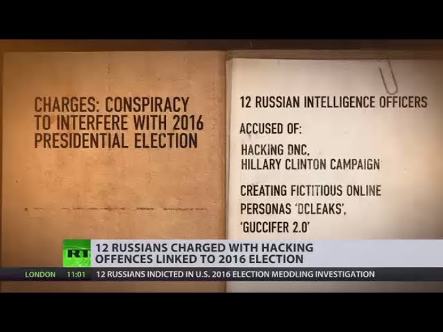 Twelve Russians indicted in US 2016 election meddling investigation