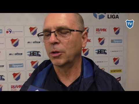 HET liga: Bohumil Páník hodnotí utkání s Plzní (0:0)