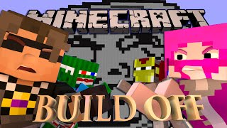 Minecraft MEME BUILD OFF! Ft. SkyDoesMinecraft, Ross, Bash, Sub, and Garrett