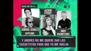 DURO DE DOMAR - ANDY K  JAZMIN STUART Y LOS EX QUE SON AMIGOS - MADUREZ  O HISTERIQUEO 10-05-13
