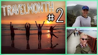 CAMPING ADVENTURE in California! - Travelmonth #2