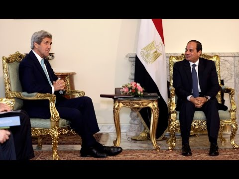Kerry goes to Egypt to talk arms and Israel