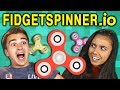 FIDGET SPINNER GAME?! WHY?! | Spinz.io (React: Gaming)