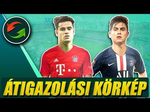 A Bayern kölcsönvenné Coutinho-t! Dybala pótolhatja Neymart a PSG-nél? ► Átigazolási körkép