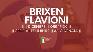 Serie A1F [8^]: Brixen - Flavioni 33-17