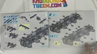 Hướng dẫn lắp ráp Lepin 23011 23011B Lego Technic MOC-5360 Avtoros Shaman 8x8 giá cực hot