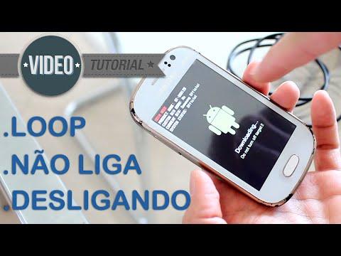 SOLUÇÃO: Samsung Galaxy Fame GT-S6810 S6812 Não Liga ou Reiniciando na tela SAMSUNG. G-Tech