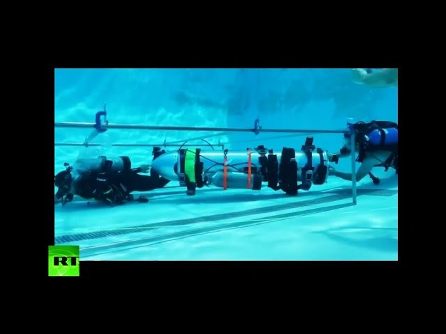 Space X tests 'kid-sized submarine' that could help in Thai cave rescue