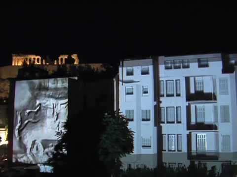 New Acropolis Museum, Athens - Opening Ceremony Video Projections directed by Athina Rachel Tsangari