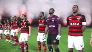 Atlético GO x Santos Rodada 24 ML Pes 2017 #PraCimaDelesSantos