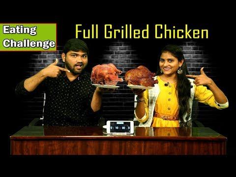 Full Grilled Chicken Eating Challenge 2018 | Food Challenge Boys Vs Girls | i5 Network