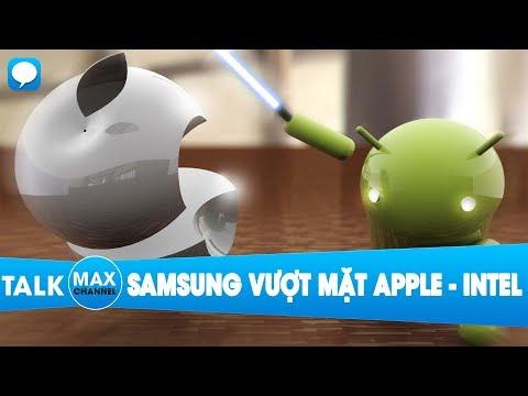 """Samsung đang có cơ hội lớn """"vượt mặt"""" cả Apple và Intel"""