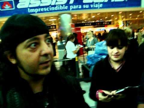 daron malakian- Aeropuerto de ezeiza