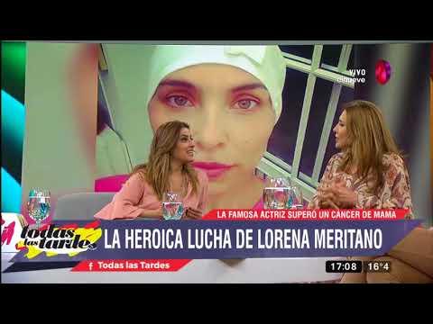 La heroica lucha de Lorena Meritano