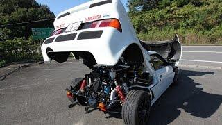 ford rs200 highway run フォードRS200で高速道をを流してみました('ω')acceleration!!